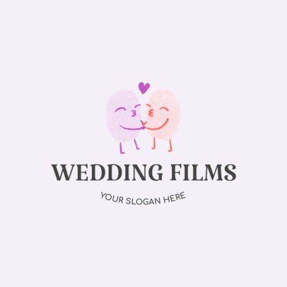 Wedding Videographer Logo Design Maker  1274d