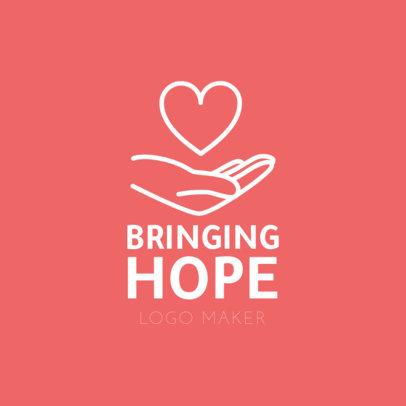 Logo Template for Youthful Humanitarian Organization 1336b