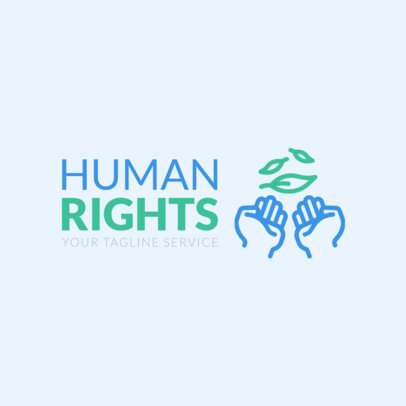 Human Rights Organization Logo Template 1336c