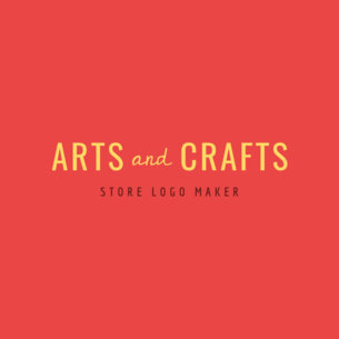 Arts and Crafts Store Logo Template1338c