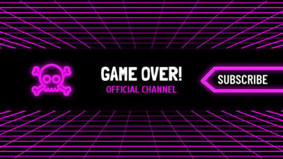 Ultimate Gaming Channel Banner Maker 463a