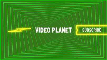 Youtube Video Gamer Channel Banner Template 463e