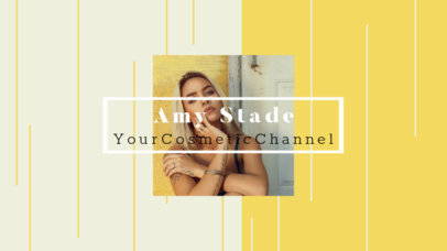 Fashion and Beauty Channel Banner Maker 453e