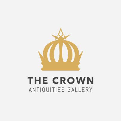 Antique Gallery Logo Design Template 1319d