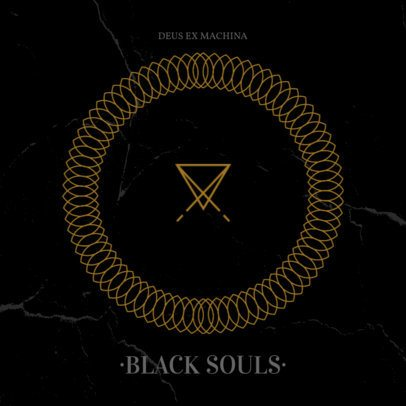 Deus Ex Machina Heavy Metal Album Cover Maker 470e