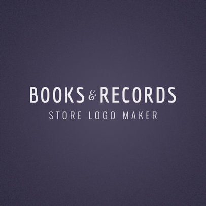 Bookstore Logo Template 1354