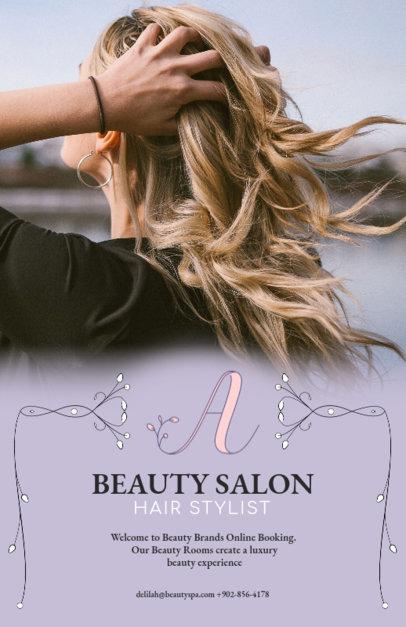 Beauty Business Flyer Template 486