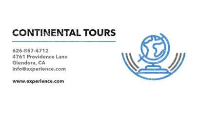 Placeit cruise guide business card maker business card maker for continental tours colourmoves