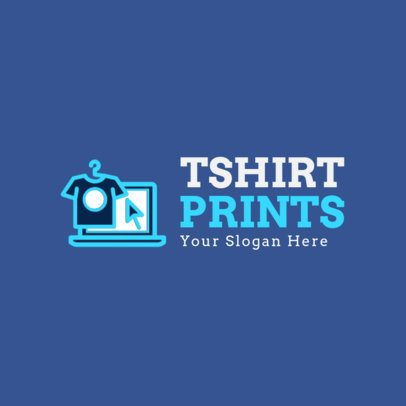 Logo Template for T-Shirt Prints Brand 1314e