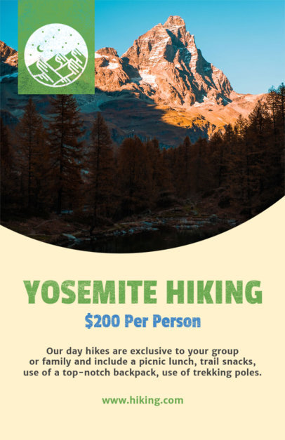 Hiking Experience Flyer Template 488d