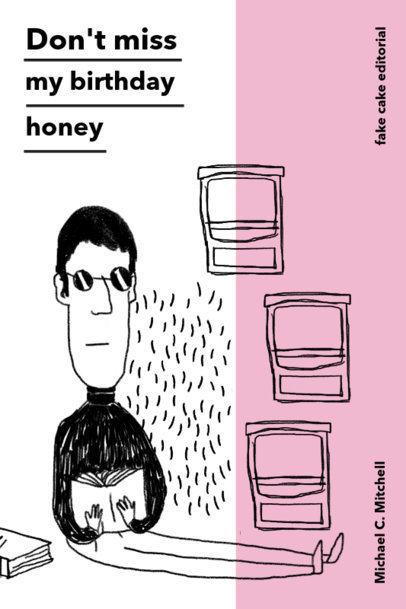 Funky Book Cover Template for Poetry 529
