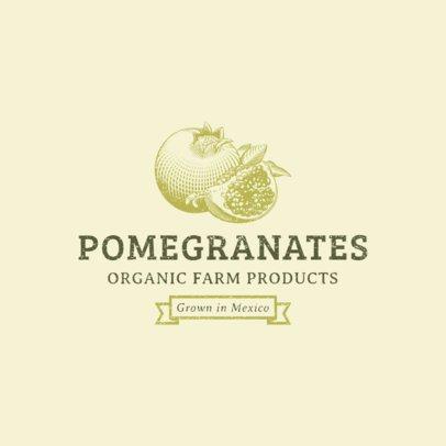 Organic Farming Logo Template 1378
