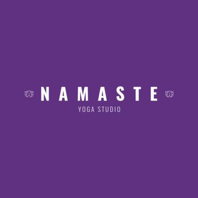 Yoga and Wellness Center Logo Maker 1359a