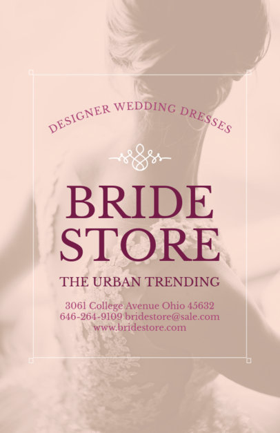 Wedding Dress Flyer Maker