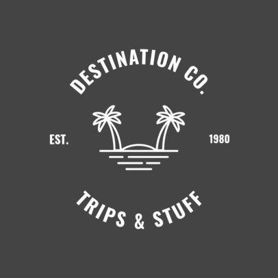 Logo Maker for Trips and Tours Travel Agents 1280d