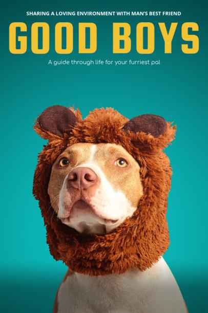 Dog Care Guide Book Cover Maker 517a