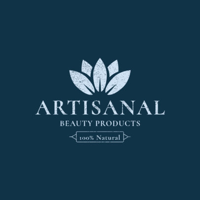 Natural Beauty Product Brand Logo Template 1192b