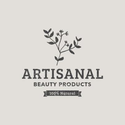Logo Maker for Natural Beauty Care Brand 1192e