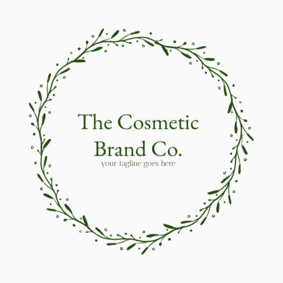 Beauty Logo Maker for Cosmetic Brands 1383f