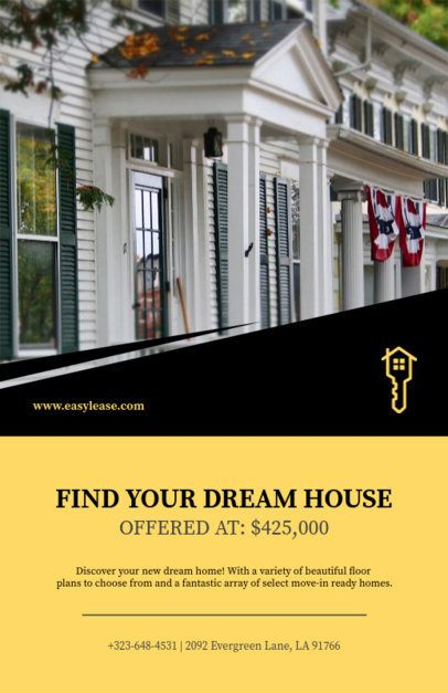 Real Estate Marketing Flyer Maker 498b-1819