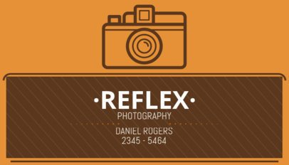 Business Card Maker for Vintage Photographers 507e