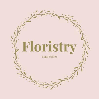 Florist Shop Creator with Leaf Circle 1384