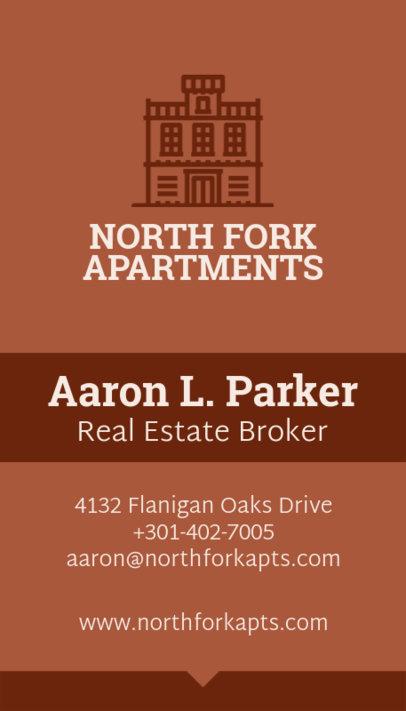Real Estate Broker Business Card Template 497a