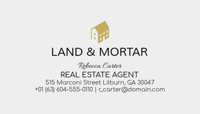 Business Card Maker for Licensed Real Estate Agents 499a-1877