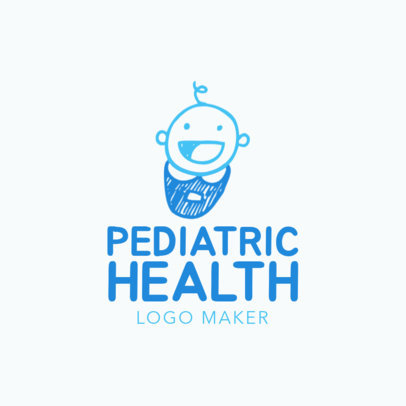 Online Logo Maker for Pediatric Health Clinic 1366e