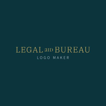 Legal Consultant Online Logo Maker 1353c