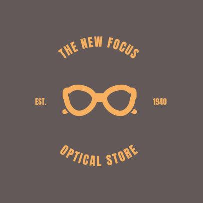 Online Logo Maker for Optical Store 1370a