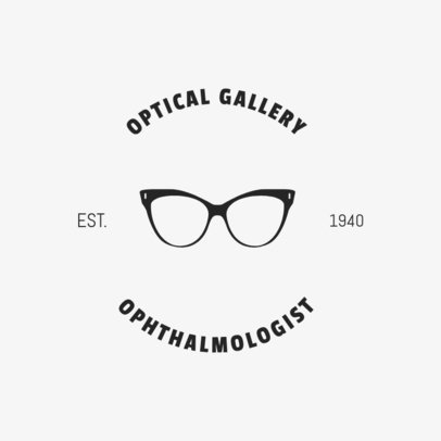 Optical Gallery Online Logo Template 1370b