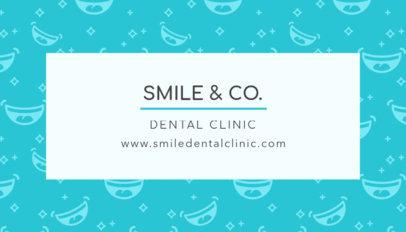 Great Dental Clinic Business Card Template 549e