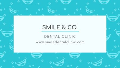 Great Dental Clinic Business Card Template 549e