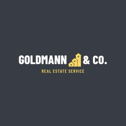 Logo Maker for Real Estate Services 1351d
