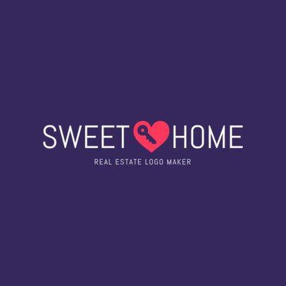 Sweet Logo Maker for Real Estate Businesses 1351e
