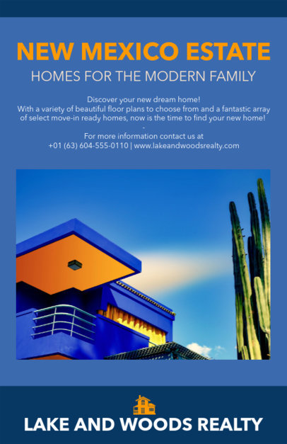 Flyer Maker to Design a House for Sale Flyer 500b