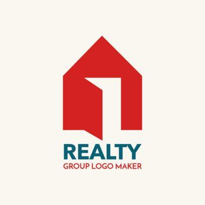 Logo Creator for Real Estate Broker 1349c