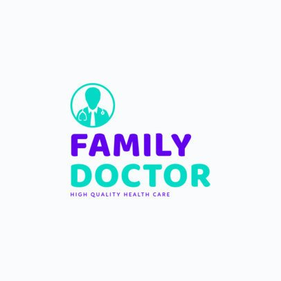 Medical Logo Template for Doctors 1368