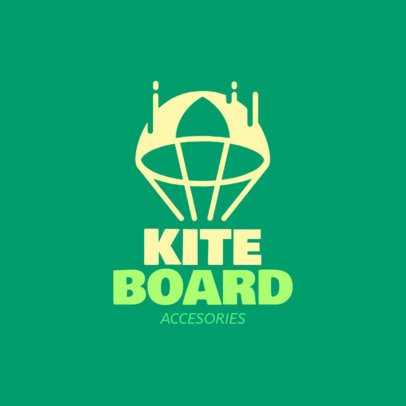 Kiteboarding Accessory Shop Online Logo Maker 1363e