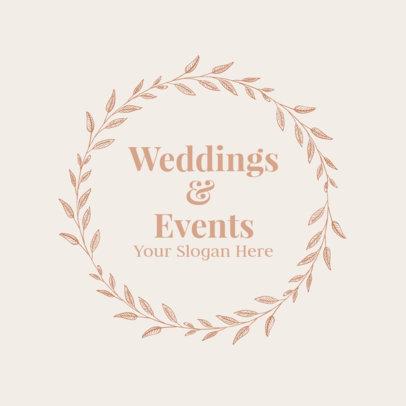 Logo Creator for Wedding & Event Management 1379d