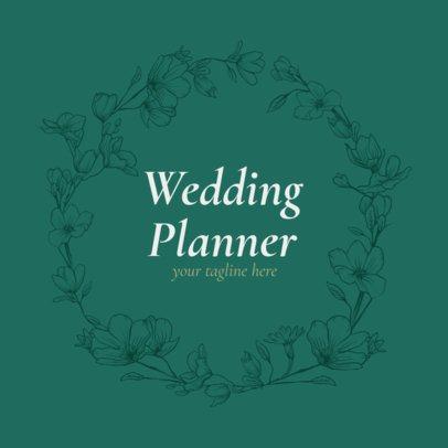 Logo Maker for Wedding Event Planner 1379e
