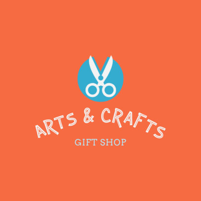 Crafts Gift Shop Logo Creator 1402e
