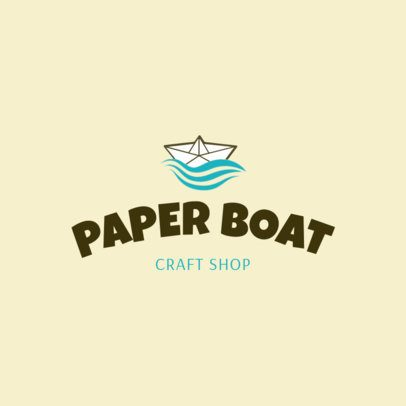 Paper Crafts Online Logo Maker 1402d