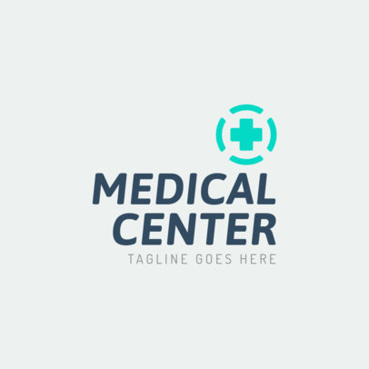 Simple Medical Center Logo Maker 1368c