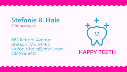 Odontology Expert Business Card Maker 562c