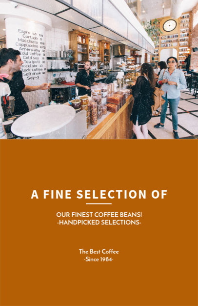 Flyer Maker for Coffee Roasters 506b