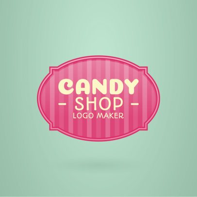 Classic Logo Maker for Candy Shops 1390