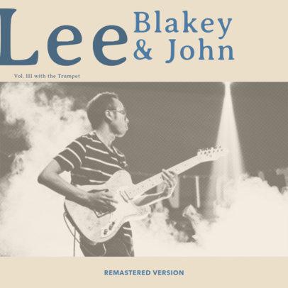 Jazz Album Cover Generator 472c