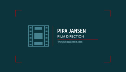 Business Card Generator for Movie Directors a217e